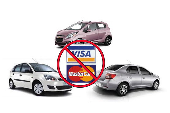 rent a car fara card de credit